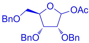 1-o-acetyl-2,3,5-tri-o-benzyl-d-ribofuranose