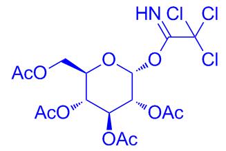 O-(2,3,4,6-Tetra-O-acetyl-α-D-glucopyranosyl)trichloroacetimidate