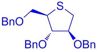 1,4-anhydro-2,3,5-tri-O-benzyl-4-thio-D-arabinitol