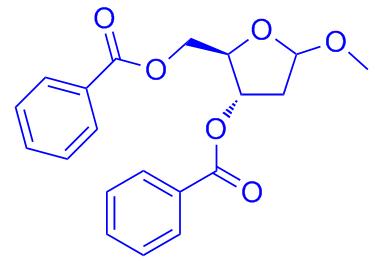 1-Methoxy-2-deoxy-3,5-di-O-benzoylribofuranose