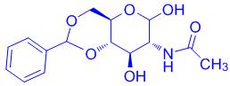 2-acetamido-4,6-O-benzylidene-2-deoxy-D-glucopyranose